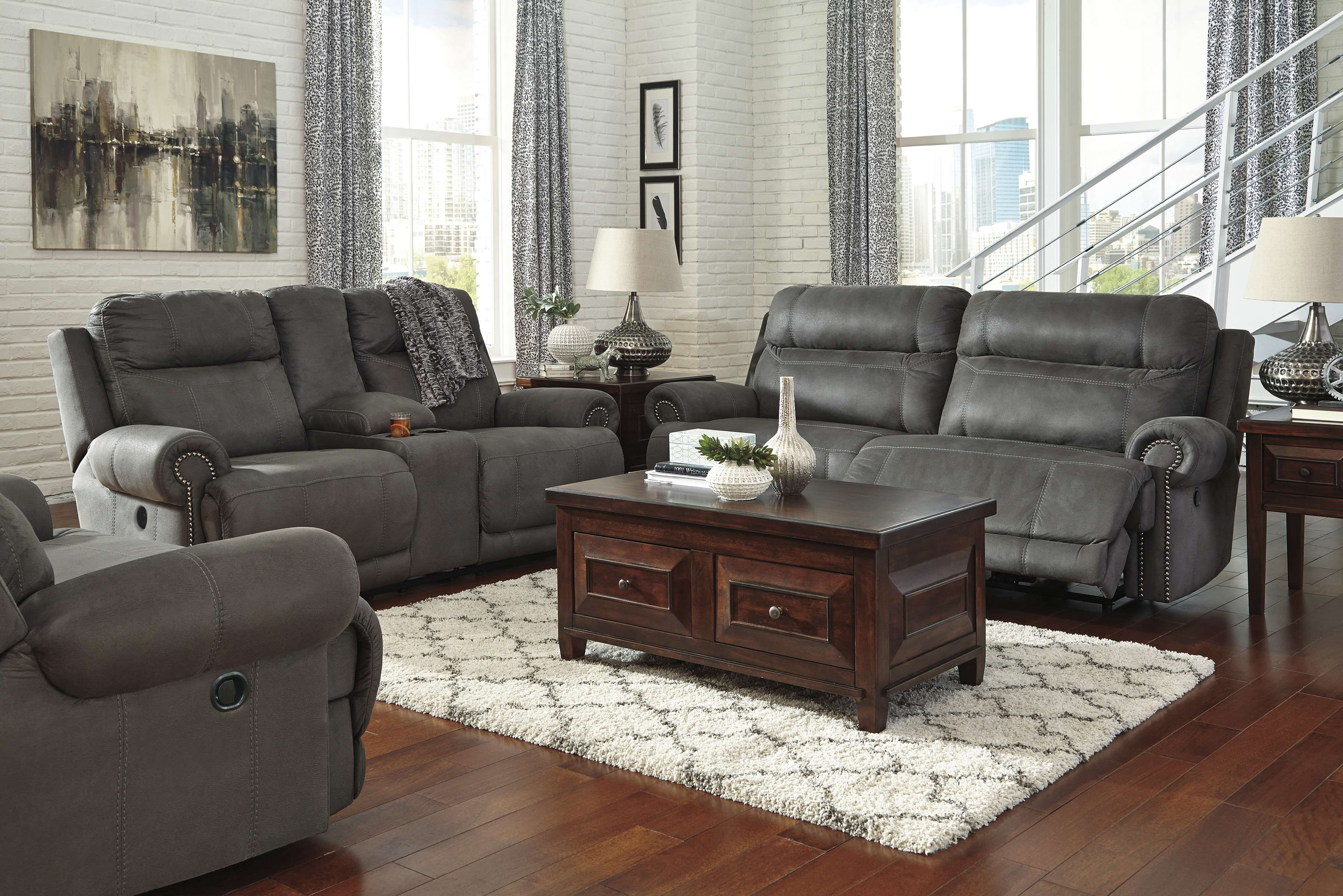 Signature Design Ashley 3840181 3840194 3840152 in 15 Awesome Ways How to Makeover Cheap 3 Piece Living Room Set