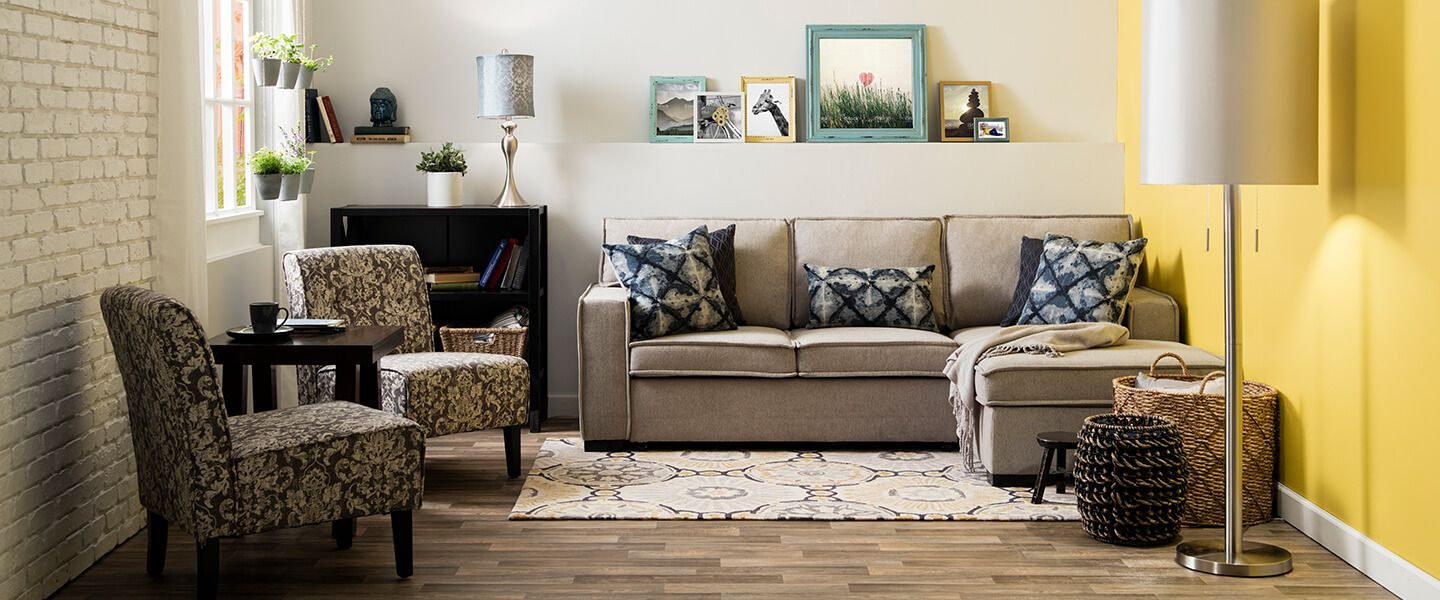 Small Spaces Shop The Look Bobs with Living Room Sets For Small Spaces