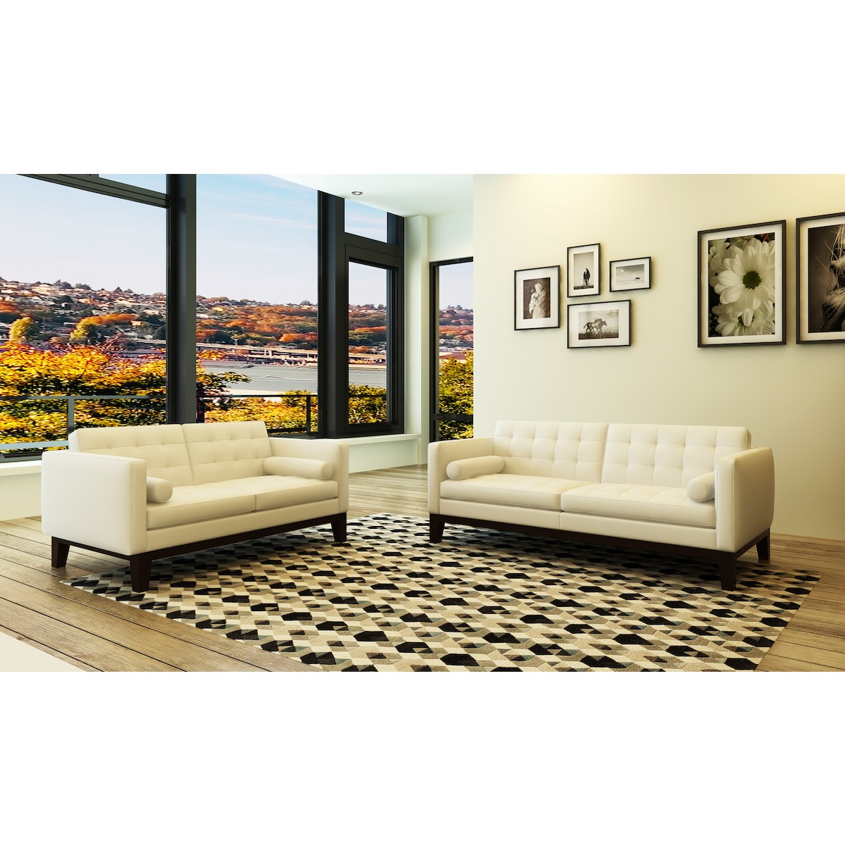 Transitional Classic Style 3 Piece Living Room Set Full Italian Genuine Leather within 11 Clever Ideas How to Makeover Full Living Room Sets