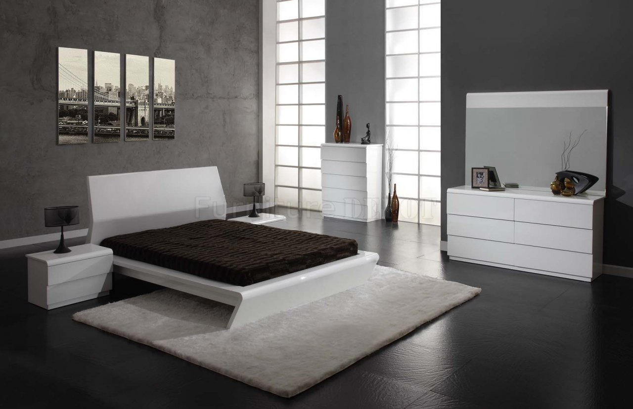 White Contemporary Bedroom Furniture At Ikea Contemporary throughout Ikea Modern Bedroom
