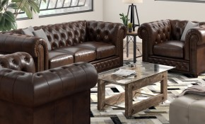 Worcester Leather 3 Piece Living Room Set inside 11 Smart Designs of How to Make 3 Piece Living Room Set Cheap