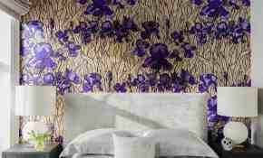 10 Beautiful Wallpaper Designs For Bedrooms 74 With Additional Small Home Decoration Ideas with Wallpaper Designs For Bedrooms