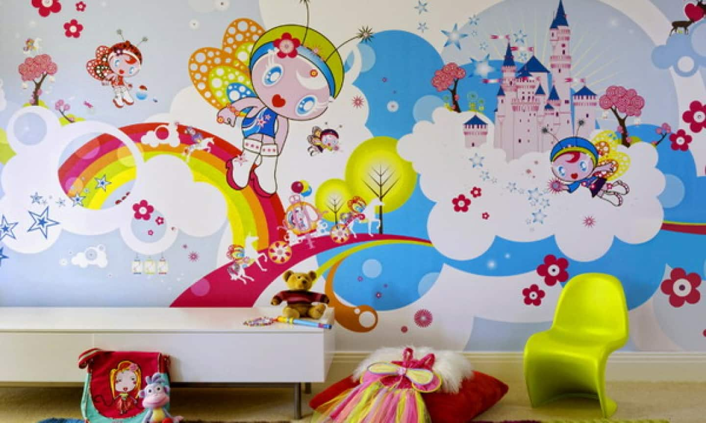 10 Beautiful Wallpaper Designs For Bedrooms For Kids 73 With Additional Furniture Home Design Ideas with Wallpaper Designs For Bedrooms For Kids