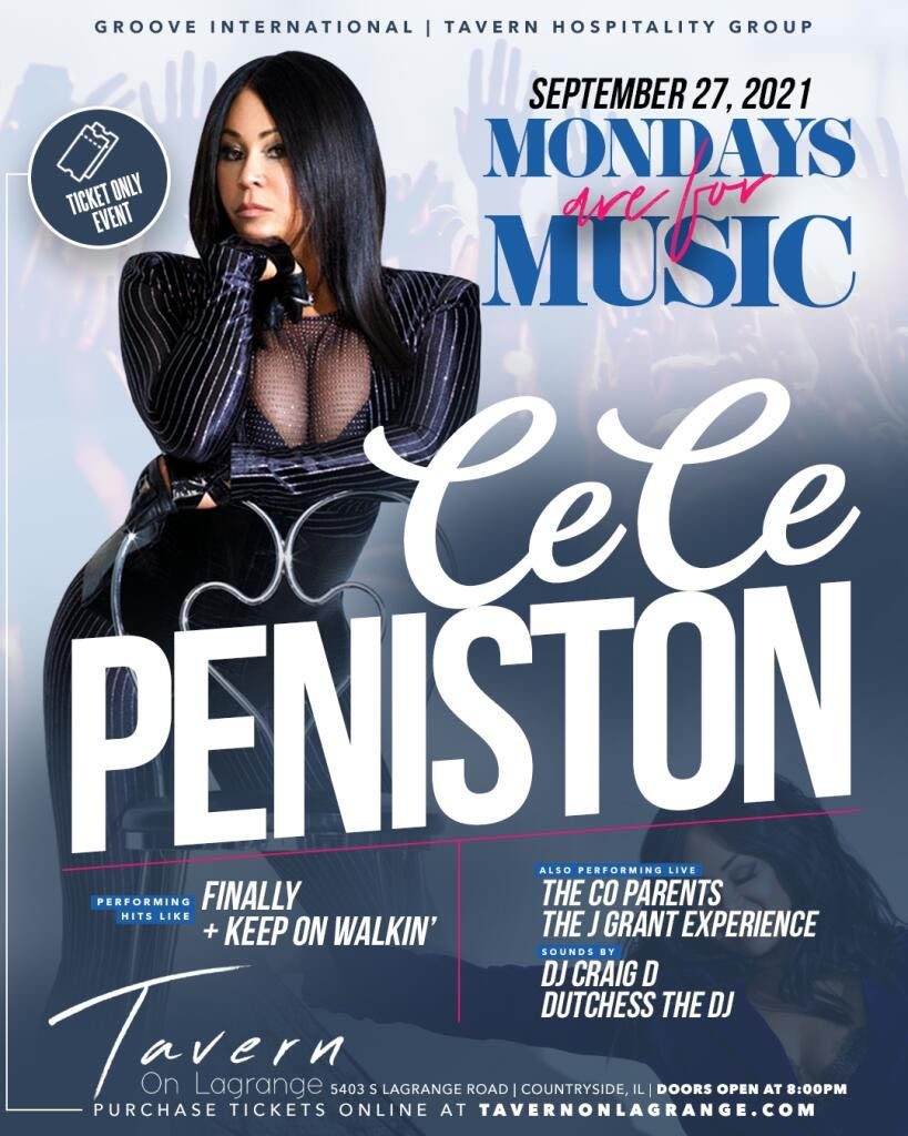 Monday's Are For Music Starring CeCe Peniston