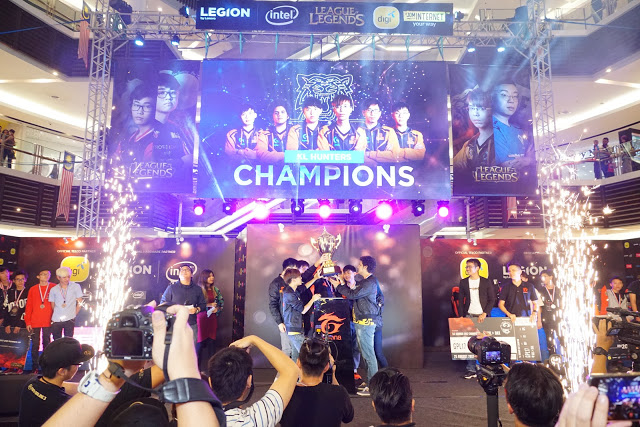 Kuala Lumpur Hunters takes the Trophy home during The Legends Circuit!