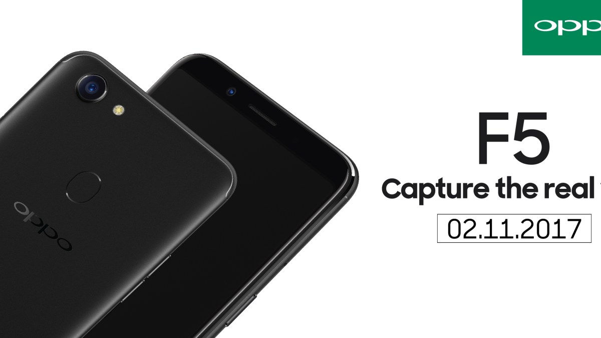 Oppo F5, Coming Soon to Malaysia on 2nd November