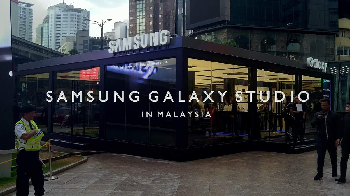 Samsung Galaxy Studio is in Malaysia for the Complete Experience