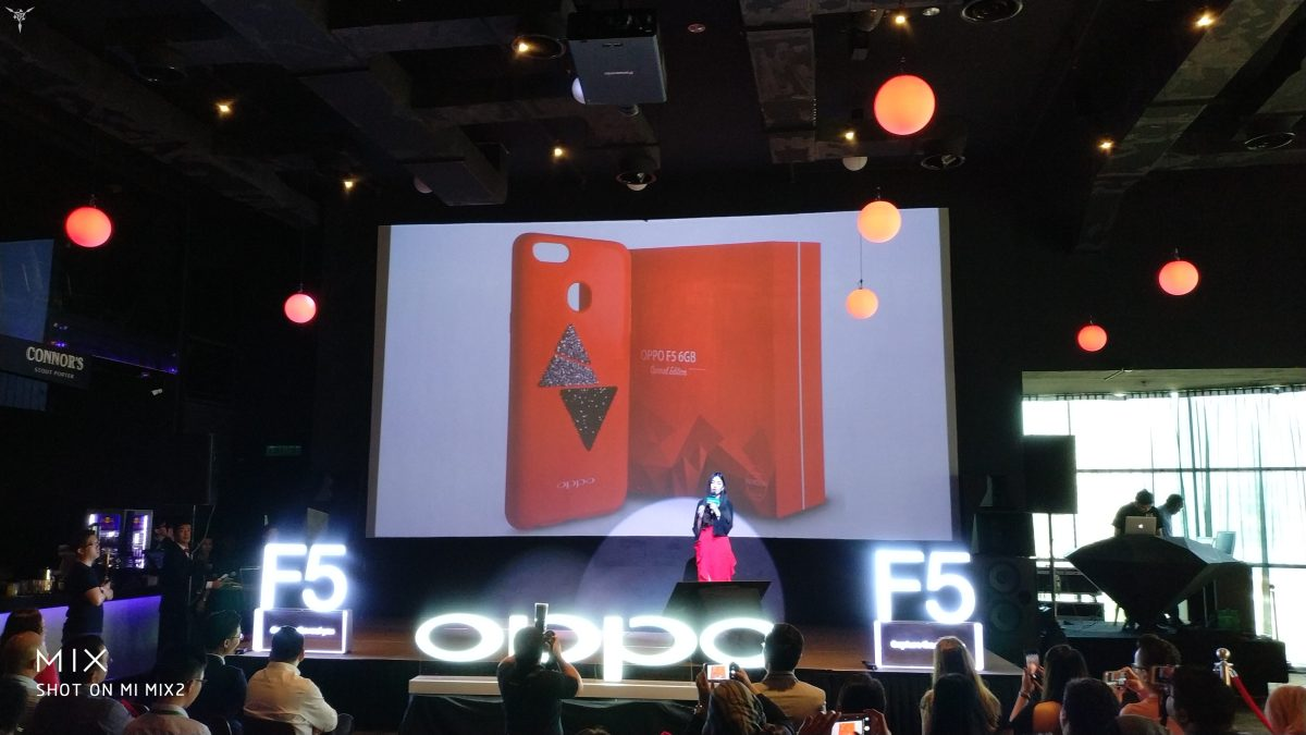 Oppo announced the 6GB Variant of the F5, It comes in Red too!