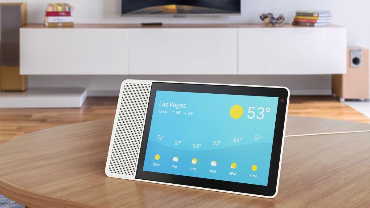 CES2018: Lenovo Smart Display, bringing Google Assistant to life!
