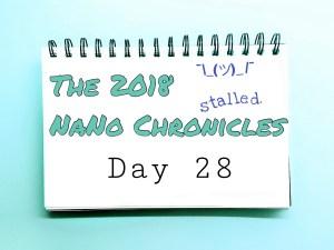 2018 NaNo Day 28 Tavinda Media