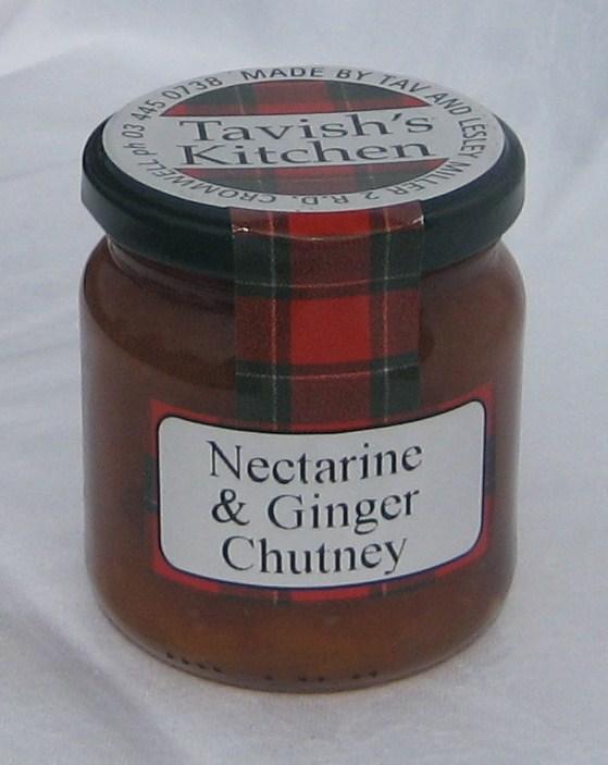 Nectarine & Ginger Chutney