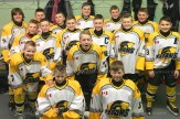 The PeeWee Reps received haircuts courtesy of Michelle Roth prior to their wins last week. The team includes, from the left, front row: Pete McIntosh, Justin Roth, Dylan Haight, Sam Patton; middle row: Nick Raymer, Brady Griffi, Drew Brenneman, Owen Donaldson, Kyle Burchatzki, Marc Dionne; back row: Owen McArther, Carter McKay, Owen Hill, Reid Forthuber, Kyle Stock, and Ben Reibling.