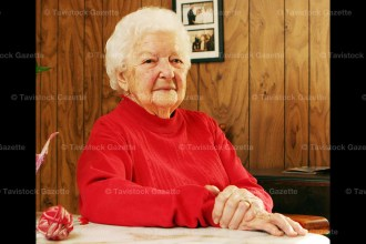 A constant knitter, Kay Wilker of Tavistock celebrated her 95th birthday on April 27th.
