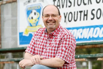 Marlow Gingerich is a Stewardship Consultant with the Mennonite Foundation of Canada and has led the Optimist Soccer program in Tavistock for the past 10 years.