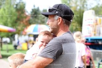 Jon Zehr with his 4-month-old son Alex.
