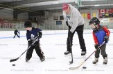 Home Hardware, in partnership with the Township of East-Zorra Tavistock, wants to remind everyone that there is free skating every Thursday from 1 to 3 p.m. at the Tavistock Recreation Centre. Above, Mayor Don McKay enjoys the time with two of his grandsons, Blake McKay (left) and Max Smith, 3.
