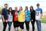The 'A' team walking for Allison (Harris) Donaldson, formerly of Tavistock, included, from the left, Colin AIken, Rachael Hillier, sister Carrie Tinning, Rose Huffman, Kathy Hilcox and Daniel Minard.