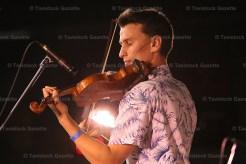 Andrew Dawydchak of Etobicoke was third in the open fiddle class.