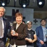 Intermediate ladies prize: Kazuko Numazawa (Japan).