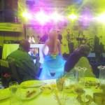 Antoinette is capturing the belly dancer. Dansözü kaydeden meşhur sima Antoinette Monte Carlo Dünya Şampiyonası 'na dansöz getireceklerini söyledi :)