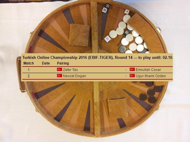 Semi Final Excitement in Turkish Online Championship