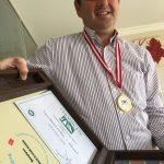 Uğur İlhami Özden mütevazi TOT2016 şampiyonluk ödülleriyle