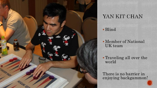 About Backgammon with Yan Kit Chan – Interview by Onur Vurur