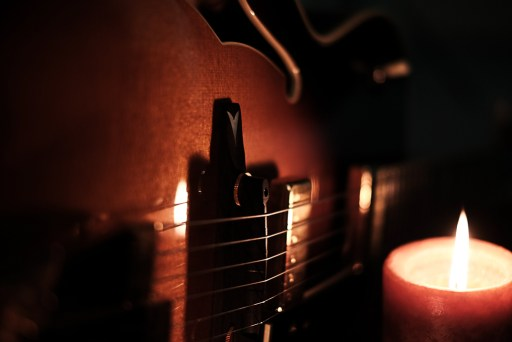 Image result for guitar candle light