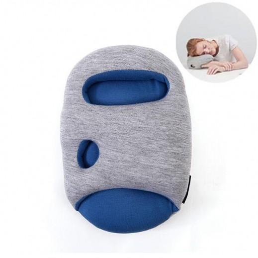 ostrich pillow mini blue