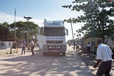 Poste frontière de Kazungula (Botswana-Zambie)
