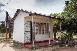 Poste frontière de Mbala/Kasesha, côté Zambie