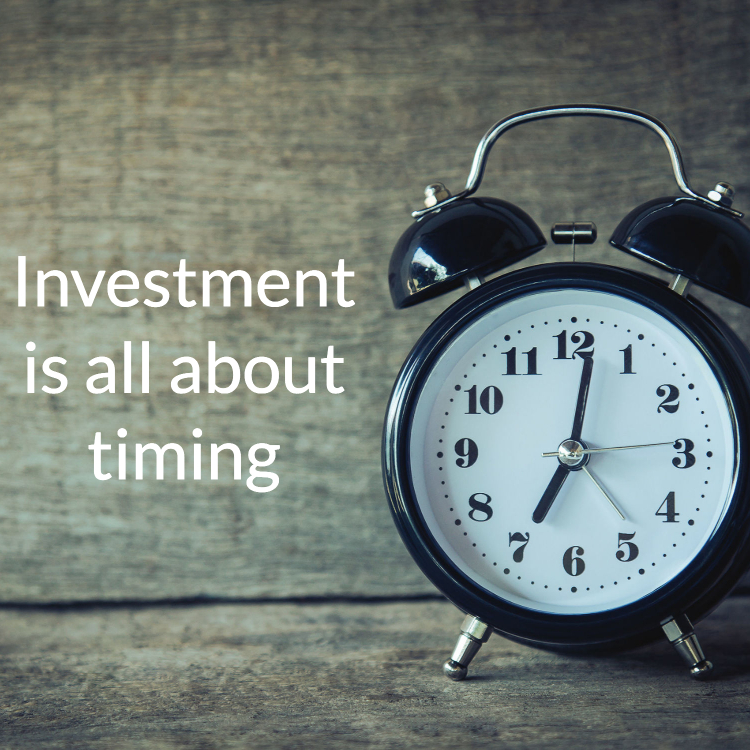 self-investment is about timing