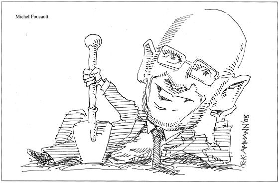 Caricature: Foucault