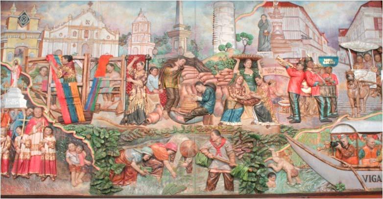 MURAL ITI VIGAN CITY CONVENTION CENTER