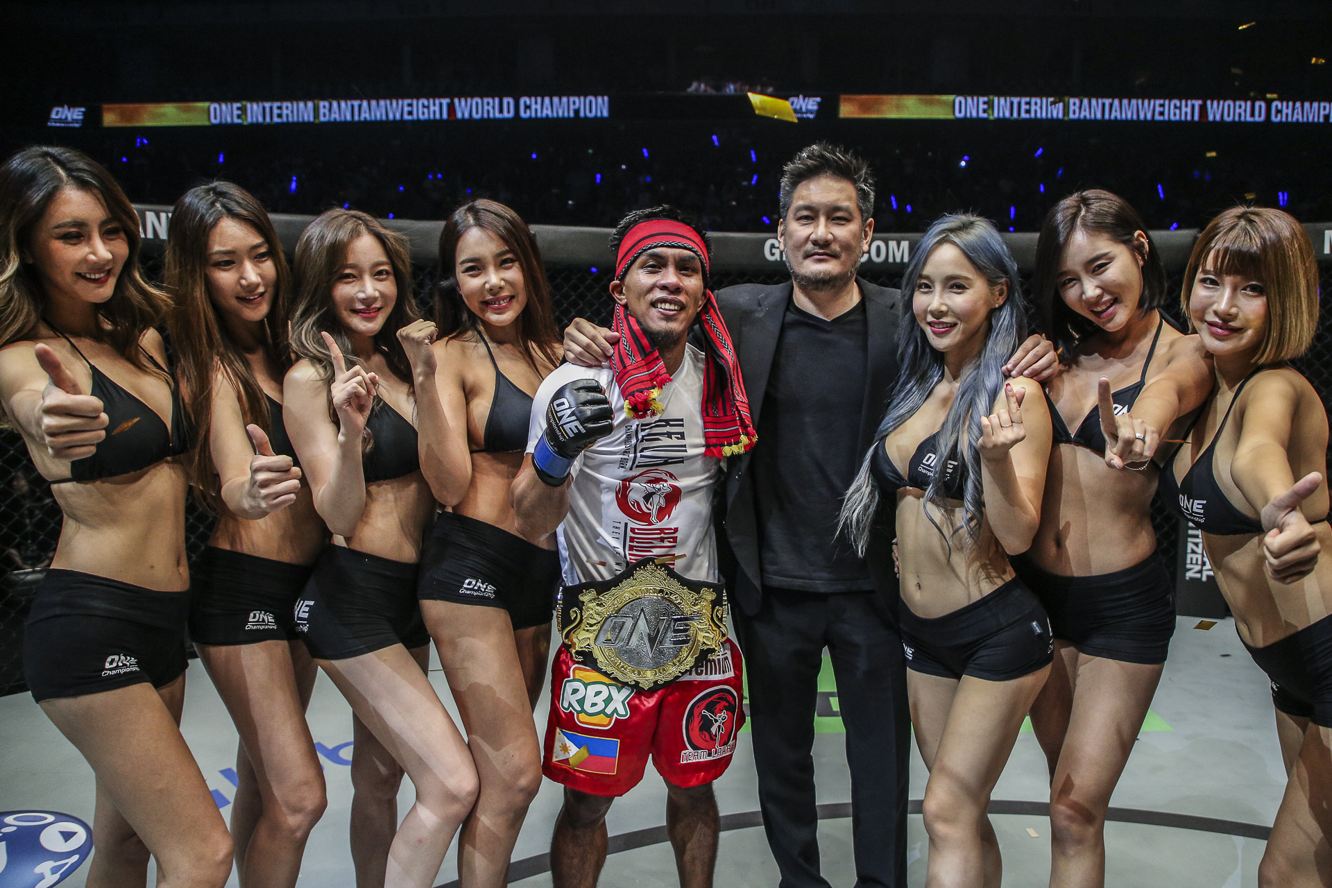 Team Lakay's Kevin 'The Silencer' Belingon is finally a World Champion