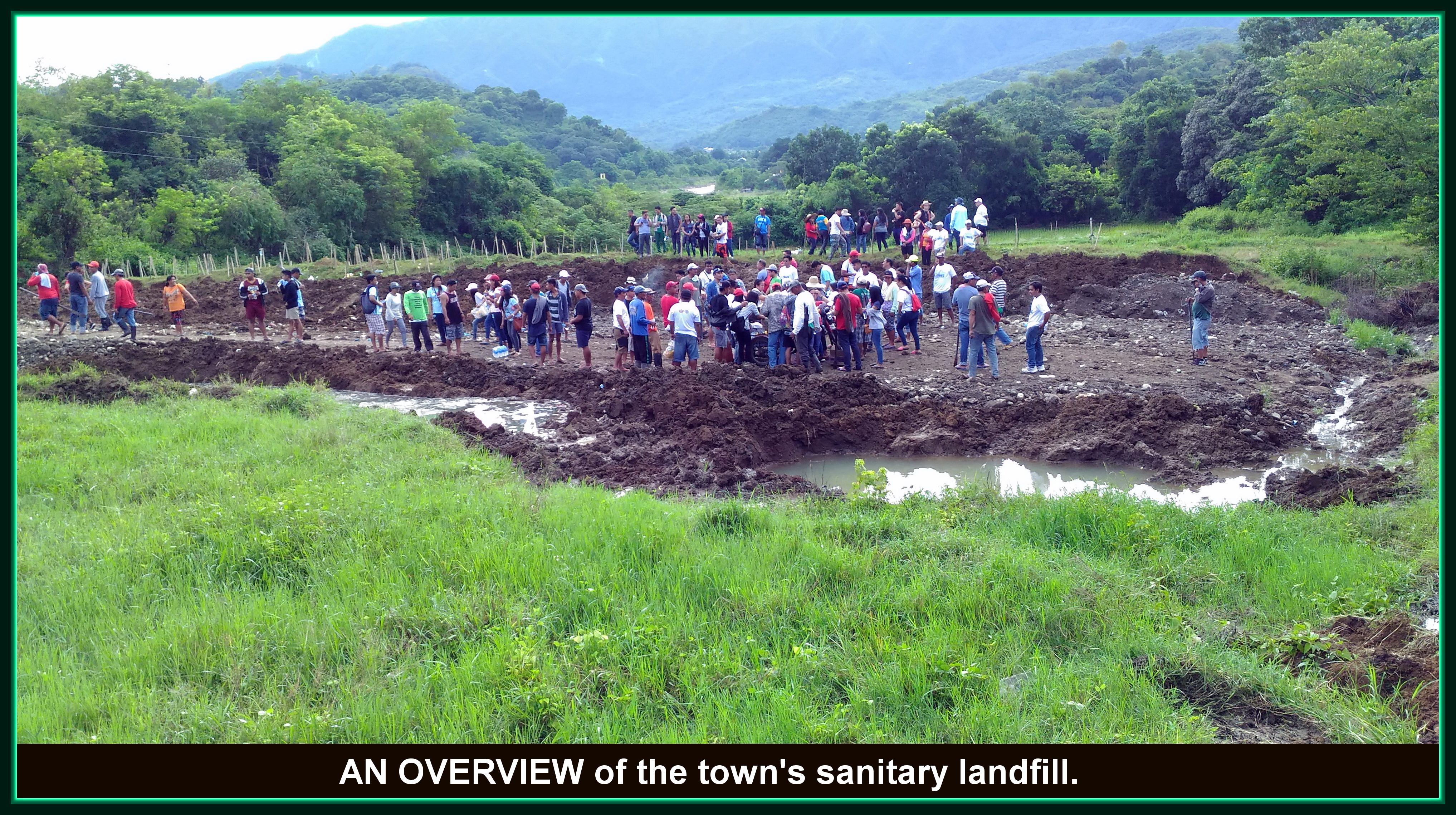 San Juan, Ilocos Sur, sanitary landfill