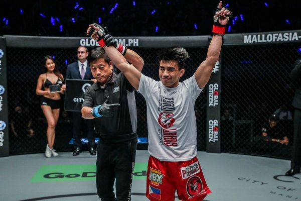 Joshua Pacio of Team Lakay (photo by ONE Championship)