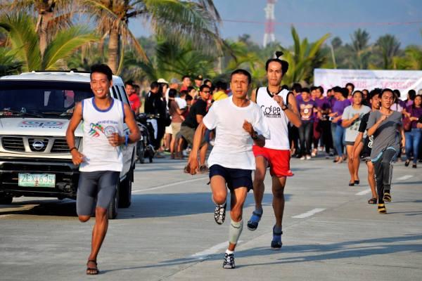 1st Stiletto Fun Run in Lingayen (photo from JCI-Lingayen Facebook Page)