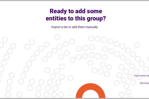 Add entities options