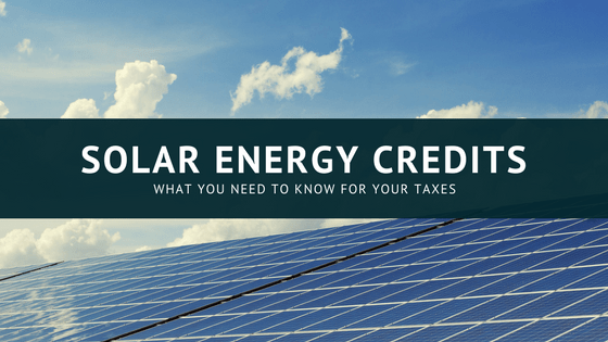 Residential Energy Efficient Property Tax Credits: Solar