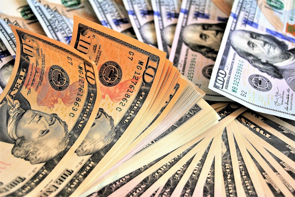 safe, money, dollars