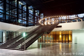 Trybunał Sprawiedliwości UE hall
