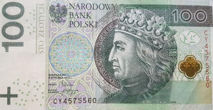 100 zl pieniadz