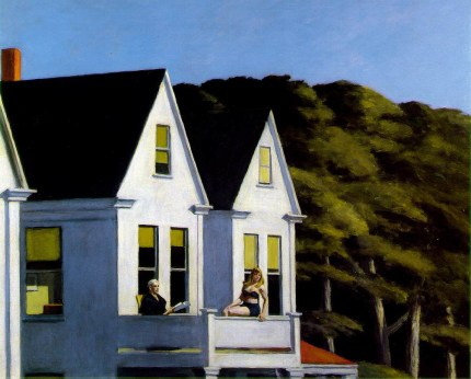 Edward Hopper, Second story sunlight