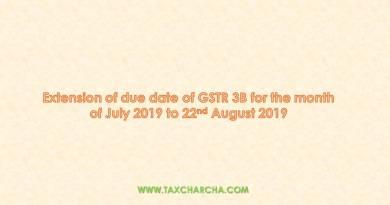 extension of GSTR 3B