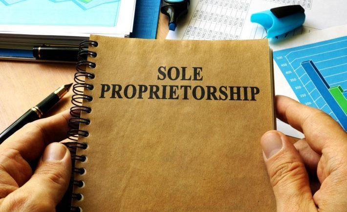 NOTE ON SOLE PROPRIETORSHIP