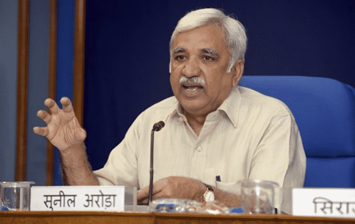 CEC Sunil Arora underscores the commitment of Election Management Bodies (EMBs) Across the World, for the Conduct of Timely, Free, Fair and Participatory Elections to Foster Democracy in the World