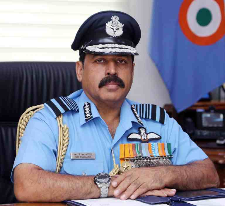 Present security scenario along northern frontiers is at uneasy no war no peace status: Chief of Air Staff RKS Bhadauria