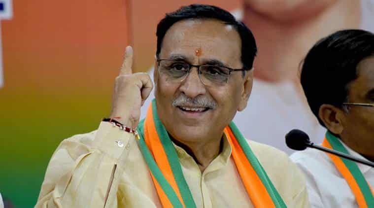 Gujarat CM announces package of Rs.3700 crore for farmers affected by excess rainfall