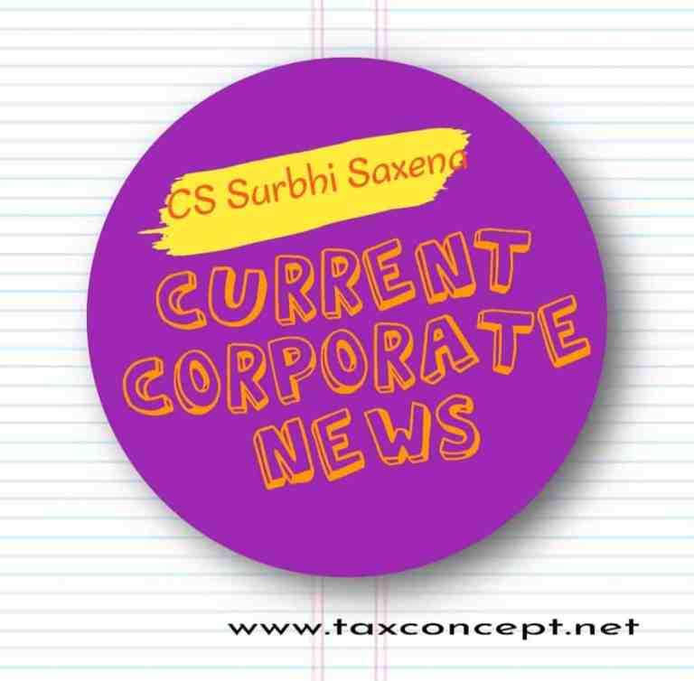 CURRENT AND CORPORATE NEWS :  16 SEPTEMBER 2020